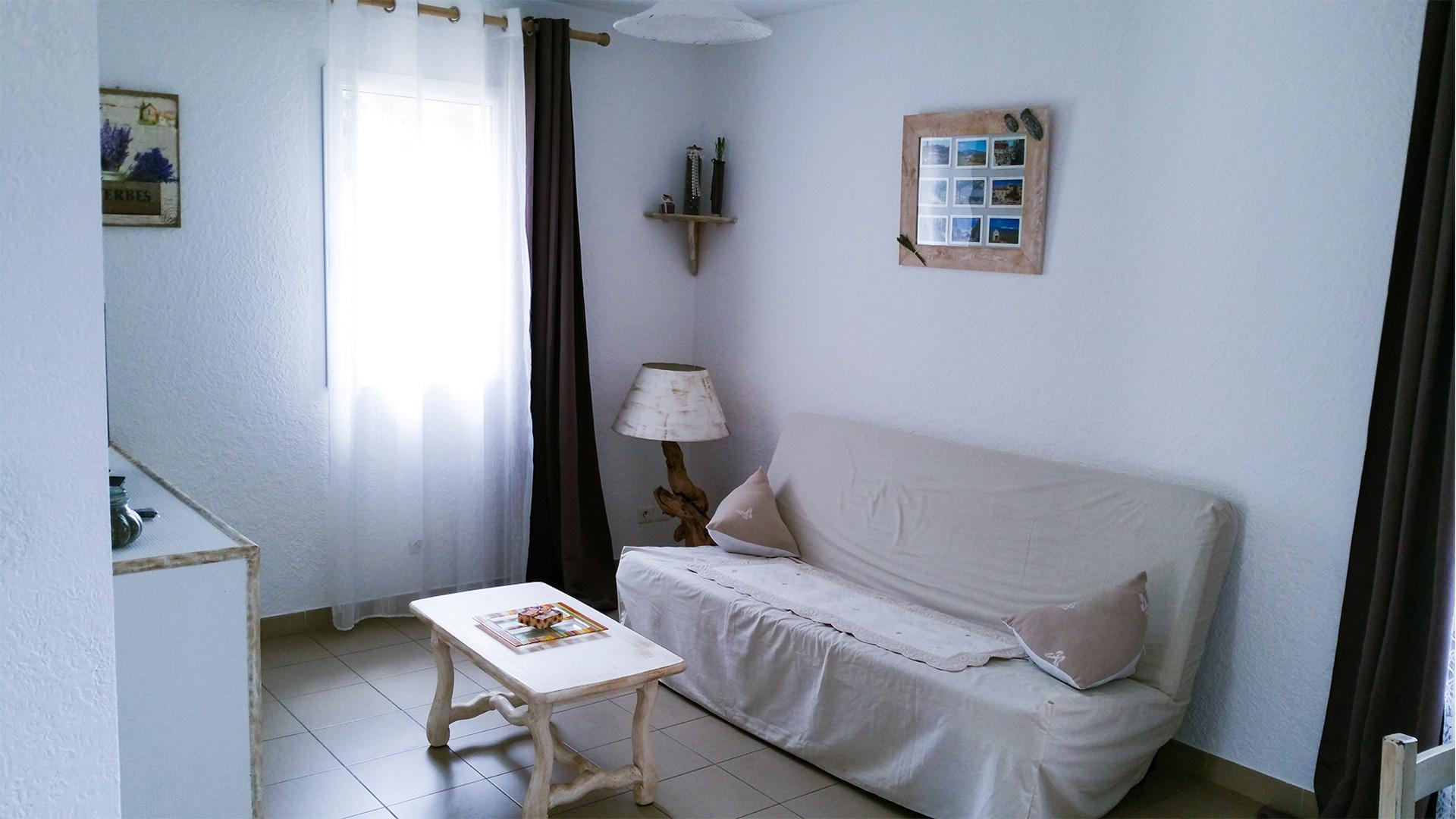 Salon d'un appartement